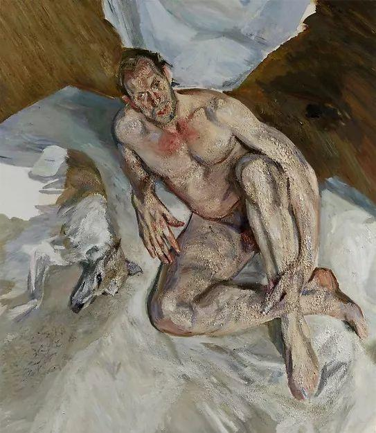 他见一个爱一个画一个,白床上人体拍近2亿元插图107
