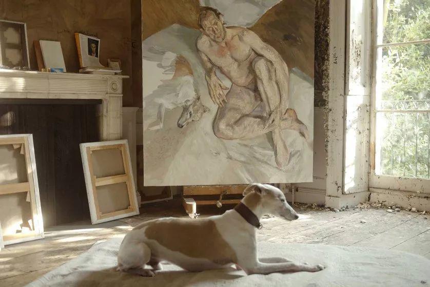 他见一个爱一个画一个,白床上人体拍近2亿元插图108