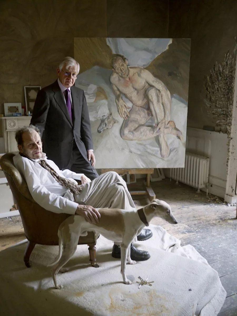 他见一个爱一个画一个,白床上人体拍近2亿元插图109