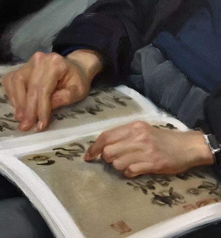 于小冬手部绘画特写插图8