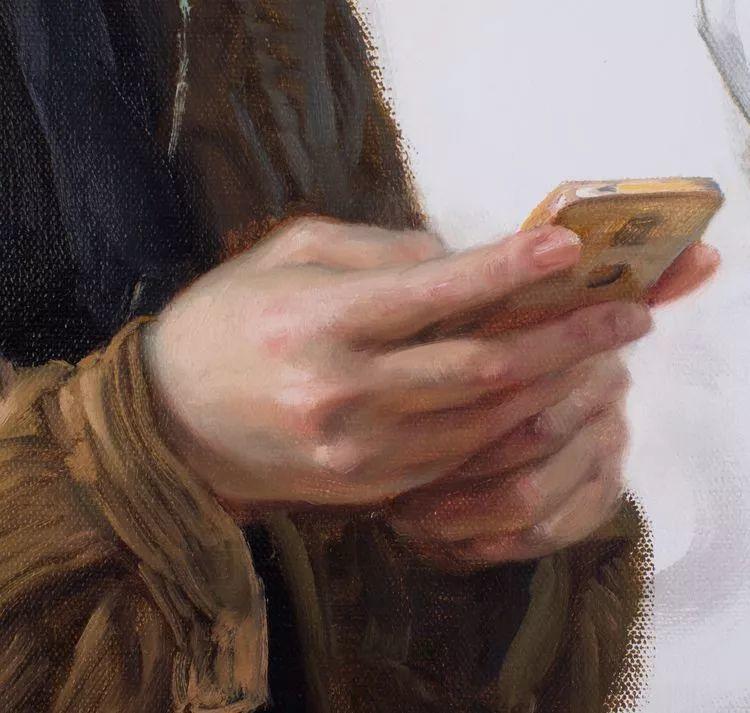 于小冬手部绘画特写插图33
