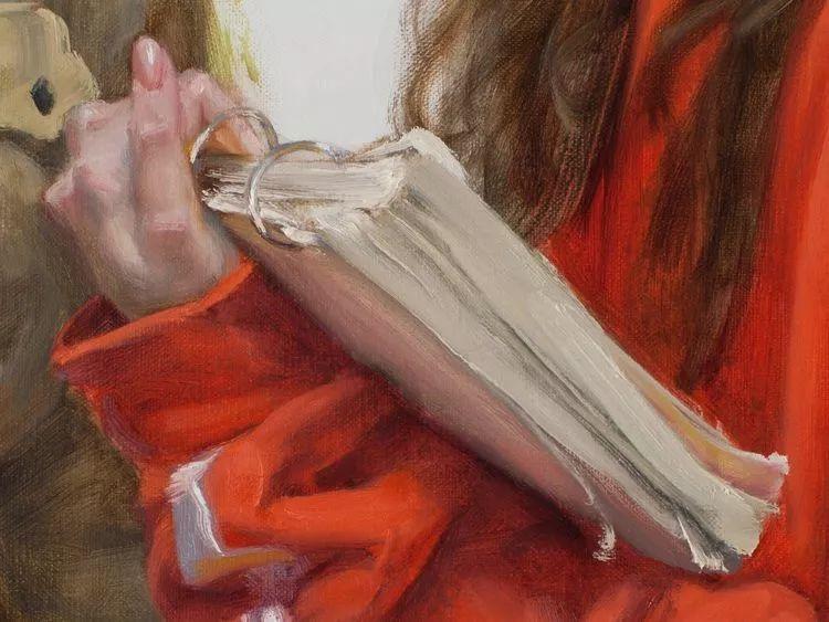 于小冬手部绘画特写插图39