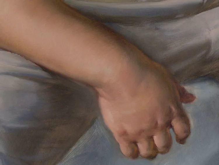于小冬手部绘画特写插图47