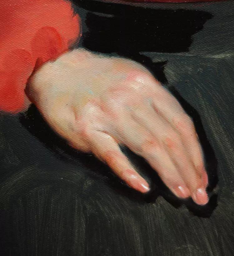 于小冬手部绘画特写插图56