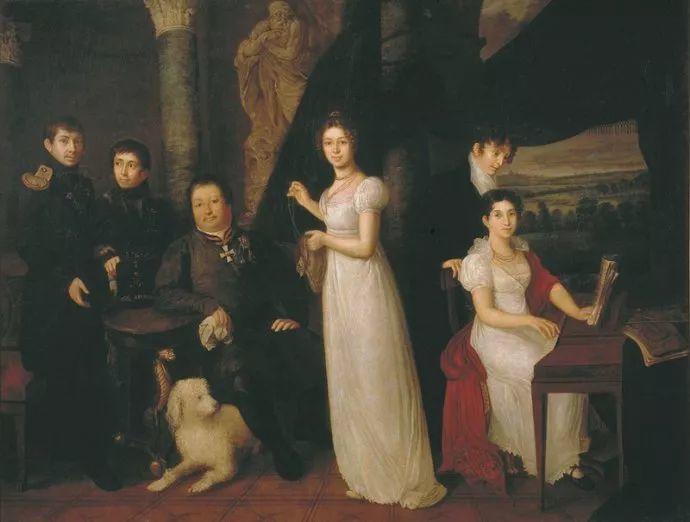 他是皇家艺术学院院士,一生共创作了3000多幅肖像画插图20