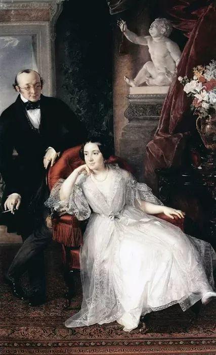 他是皇家艺术学院院士,一生共创作了3000多幅肖像画插图23