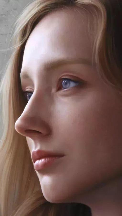 """这位超写实画家,简直就是行走的""""美颜相机""""插图123"""