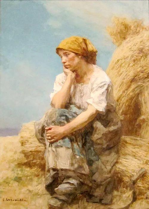 农村题材 法国画家Léon Lhermitte插图1