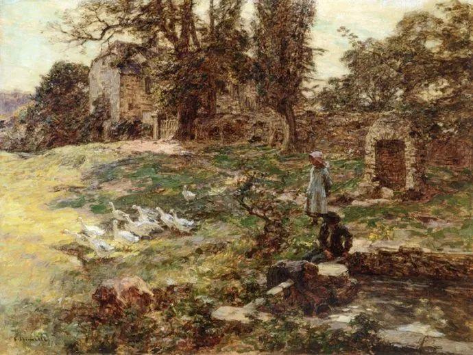 农村题材 法国画家Léon Lhermitte插图3