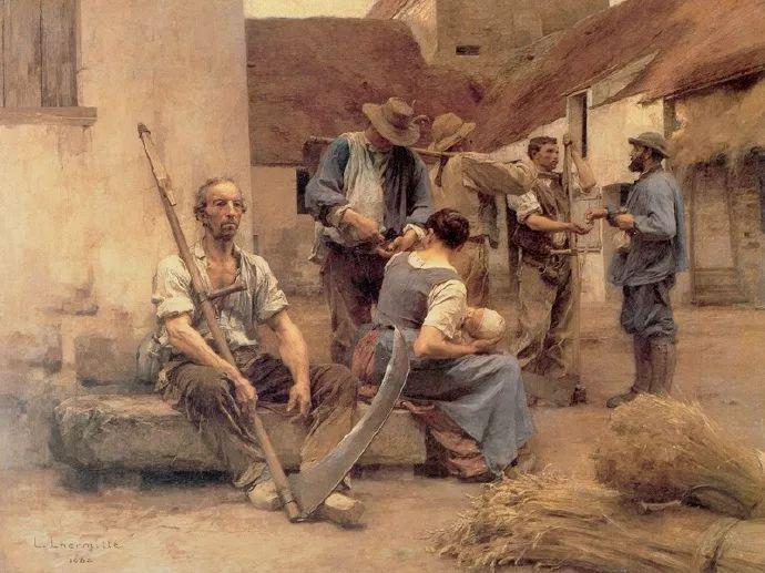 农村题材 法国画家Léon Lhermitte插图5