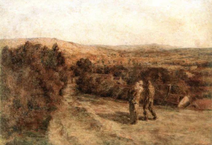 农村题材 法国画家Léon Lhermitte插图7