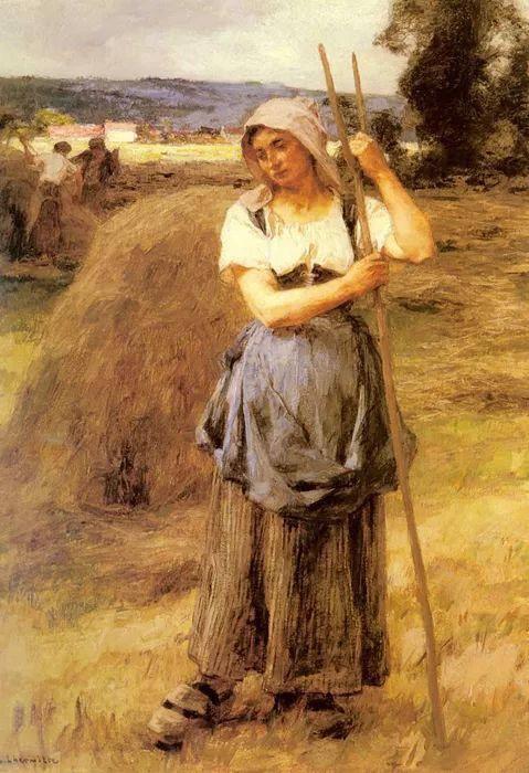 农村题材 法国画家Léon Lhermitte插图9