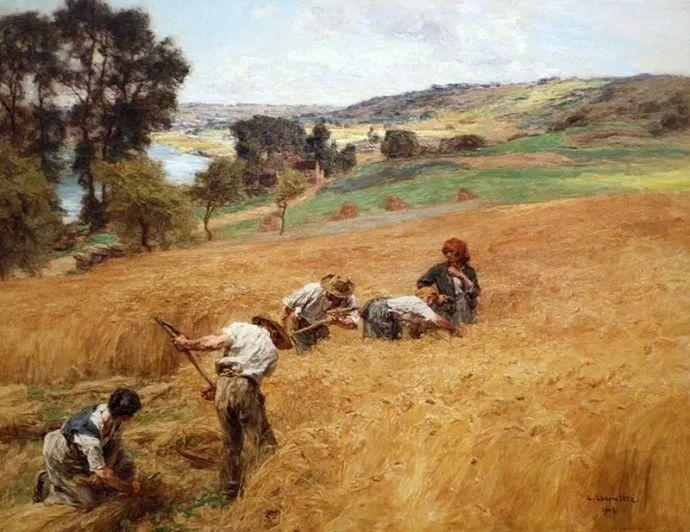 农村题材 法国画家Léon Lhermitte插图11