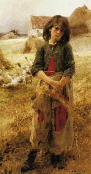 农村题材 法国画家Léon Lhermitte插图15