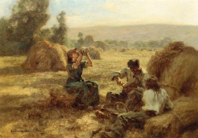 农村题材 法国画家Léon Lhermitte插图17