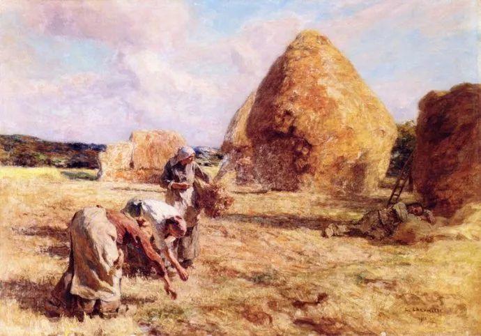 农村题材 法国画家Léon Lhermitte插图19
