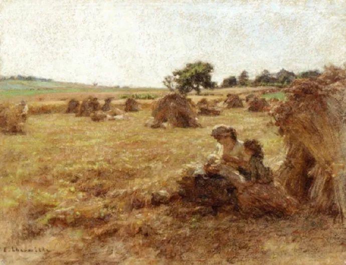 农村题材 法国画家Léon Lhermitte插图21