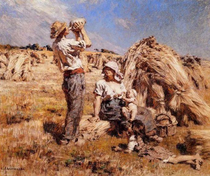 农村题材 法国画家Léon Lhermitte插图23
