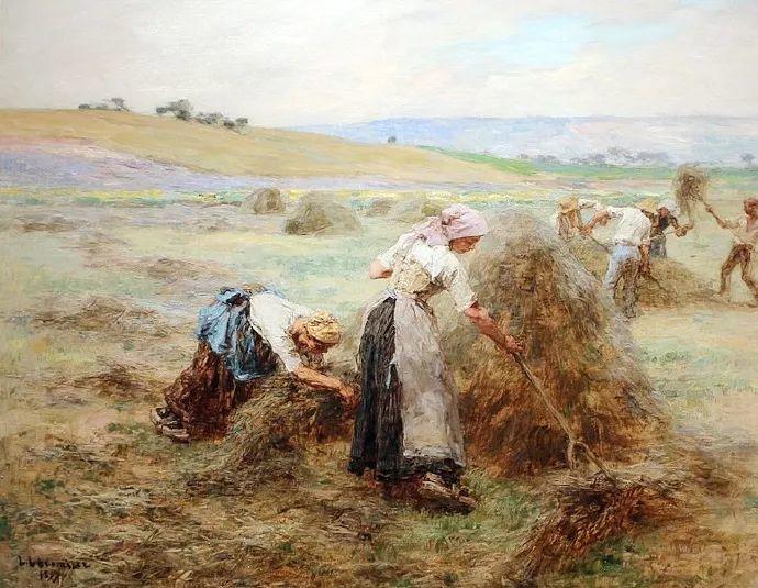 农村题材 法国画家Léon Lhermitte插图25