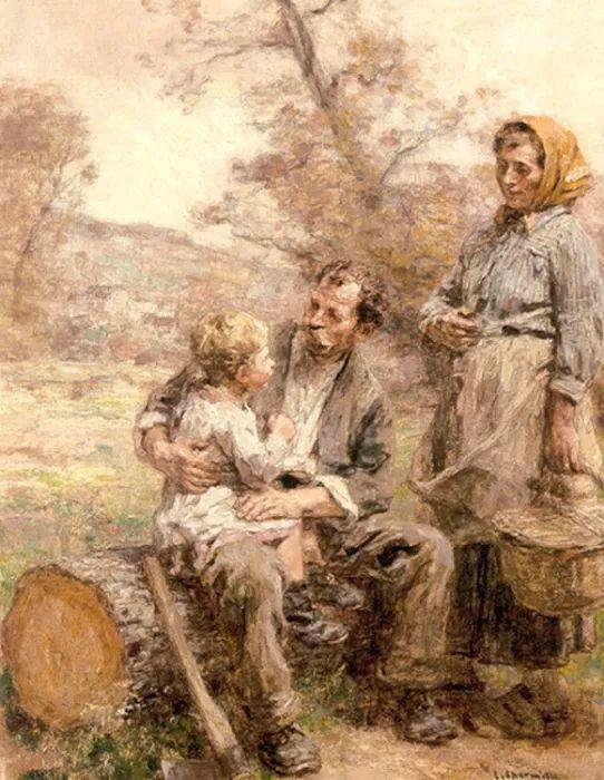 农村题材 法国画家Léon Lhermitte插图29