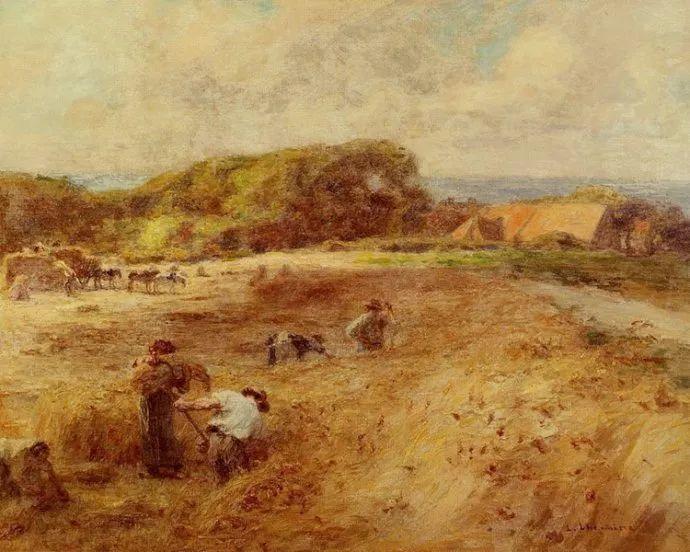 农村题材 法国画家Léon Lhermitte插图31