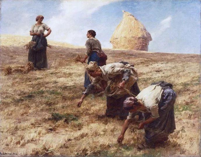 农村题材 法国画家Léon Lhermitte插图33