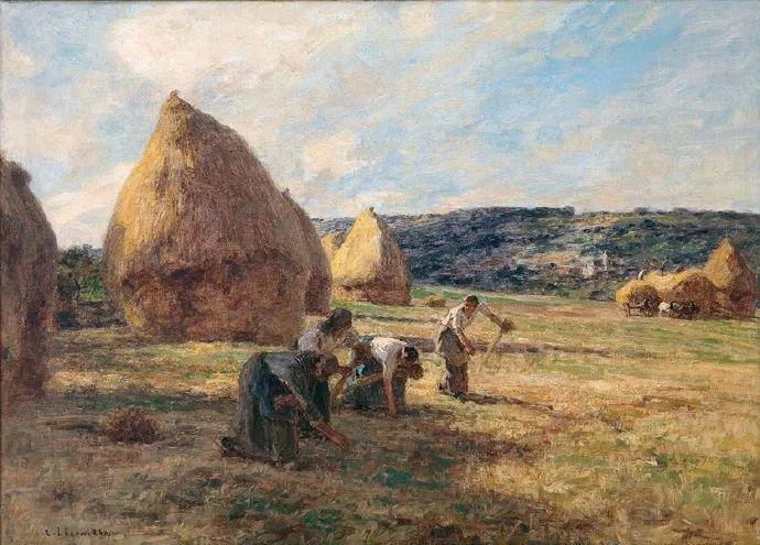 农村题材 法国画家Léon Lhermitte插图39