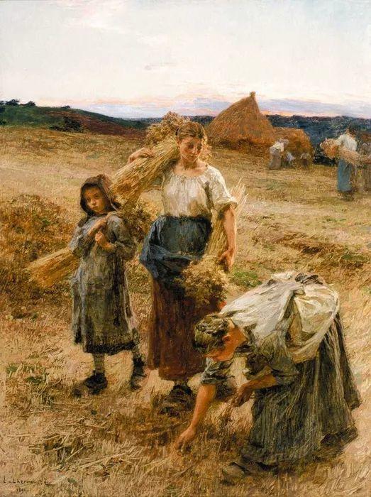 农村题材 法国画家Léon Lhermitte插图41