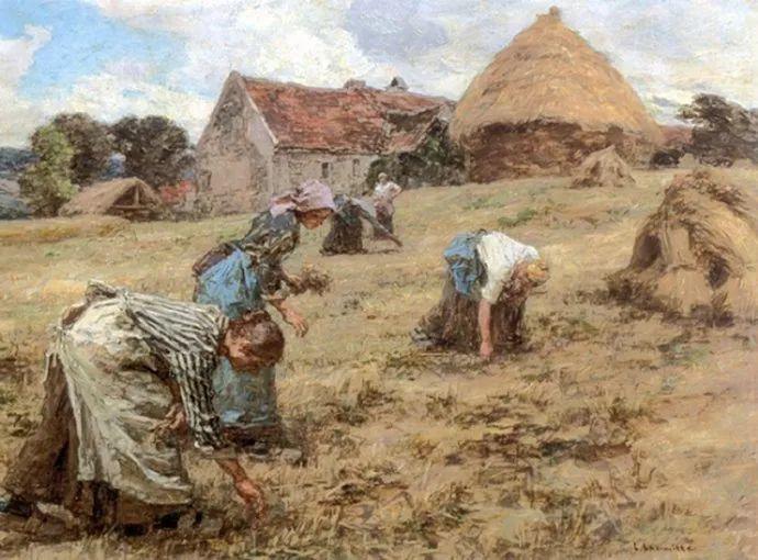 农村题材 法国画家Léon Lhermitte插图43