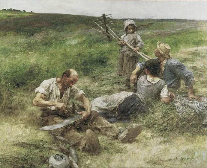 农村题材 法国画家Léon Lhermitte插图45