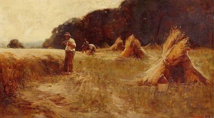 农村题材 法国画家Léon Lhermitte插图47