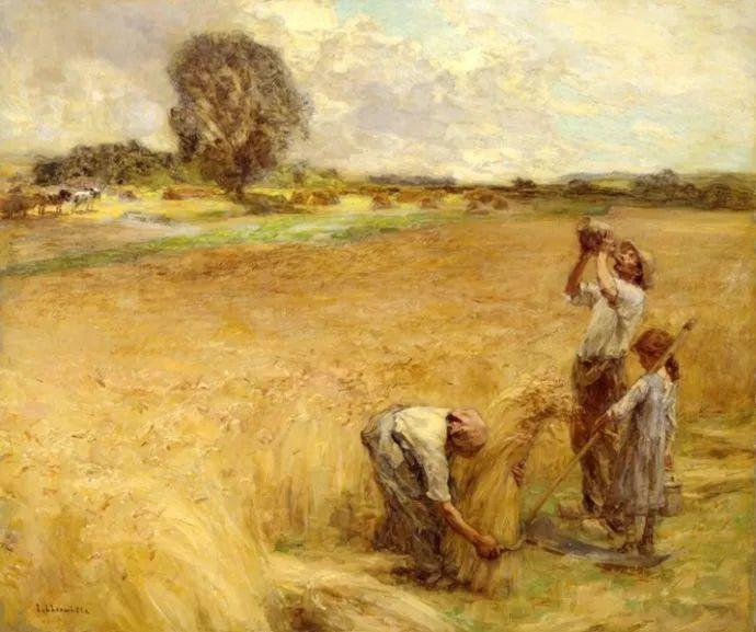 农村题材 法国画家Léon Lhermitte插图51