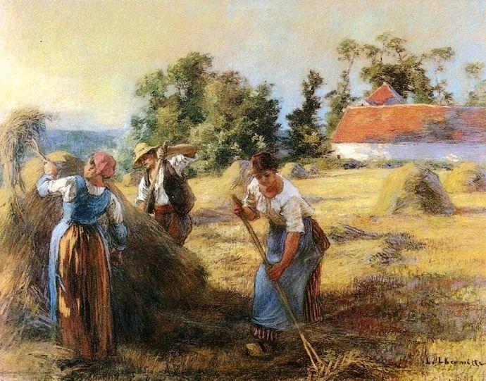农村题材 法国画家Léon Lhermitte插图53