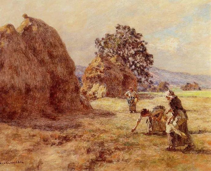 农村题材 法国画家Léon Lhermitte插图55