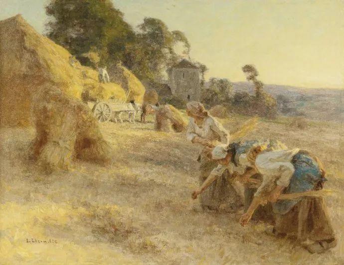 农村题材 法国画家Léon Lhermitte插图57
