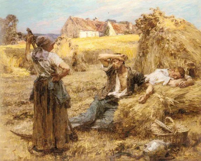 农村题材 法国画家Léon Lhermitte插图61