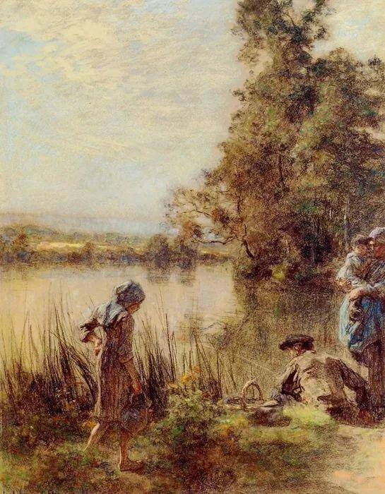 农村题材 法国画家Léon Lhermitte插图71