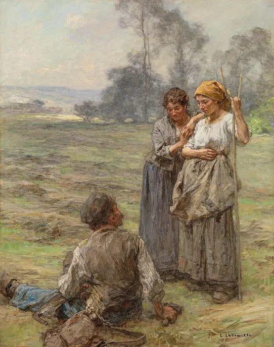 农村题材 法国画家Léon Lhermitte插图73