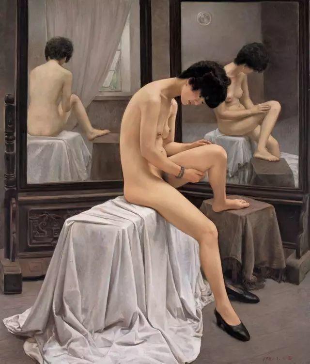 杨飞云油画中的美女,妩媚多情!插图5