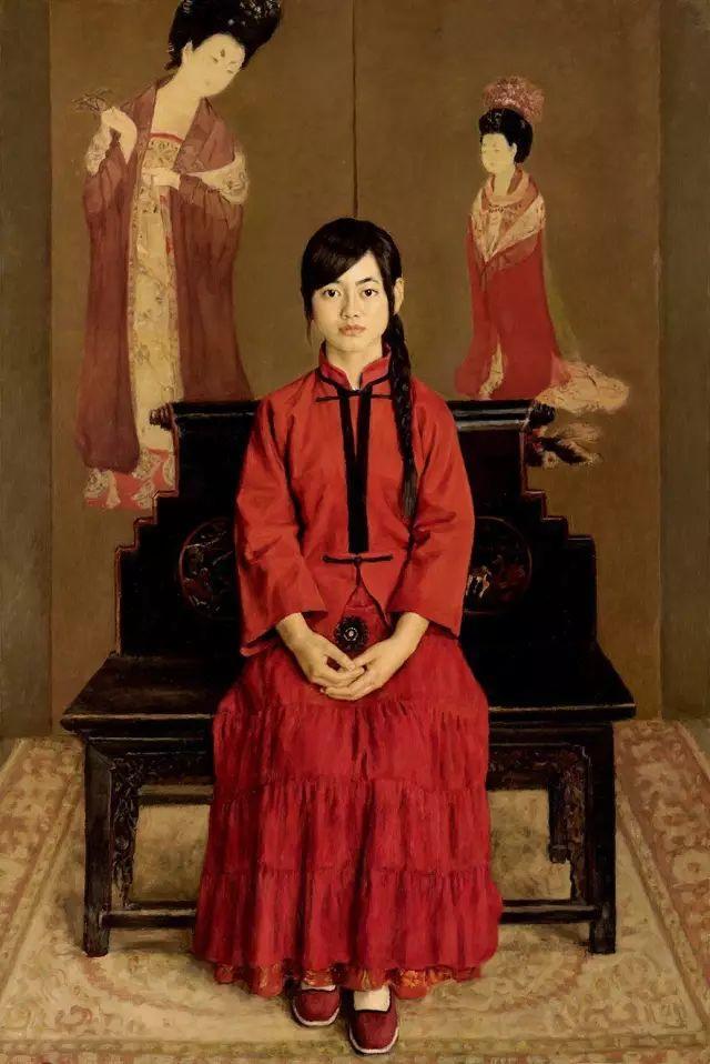 杨飞云油画中的美女,妩媚多情!插图11