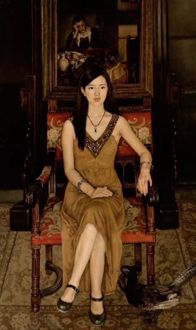 杨飞云油画中的美女,妩媚多情!插图13