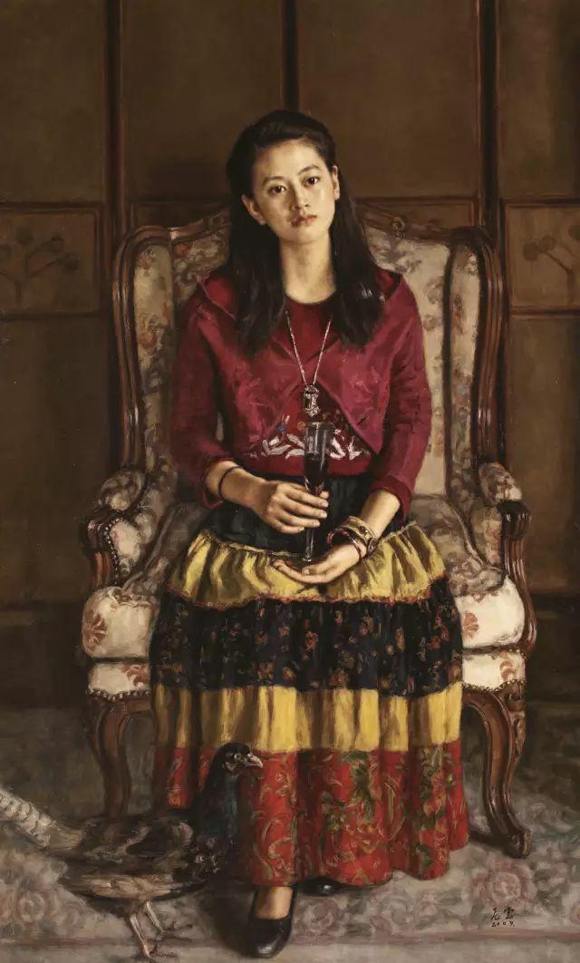 杨飞云油画中的美女,妩媚多情!插图15