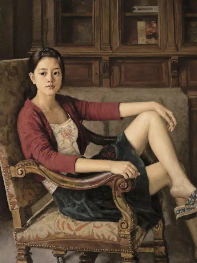 杨飞云油画中的美女,妩媚多情!插图19