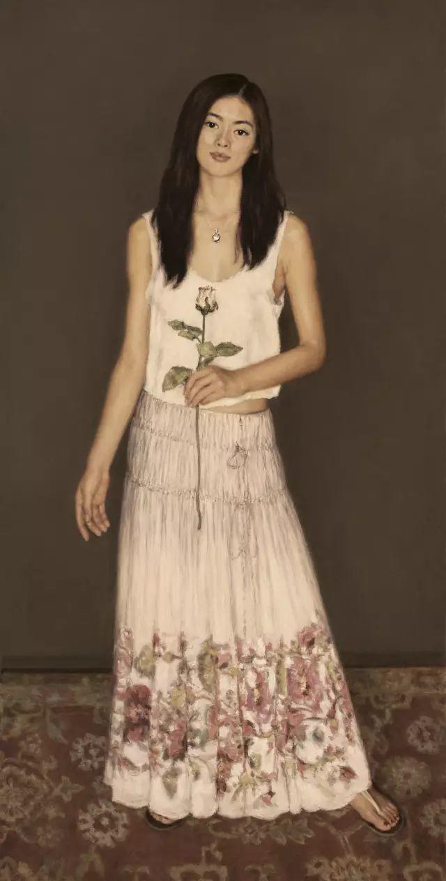 杨飞云油画中的美女,妩媚多情!插图29