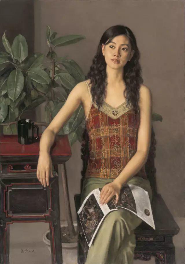 杨飞云油画中的美女,妩媚多情!插图31