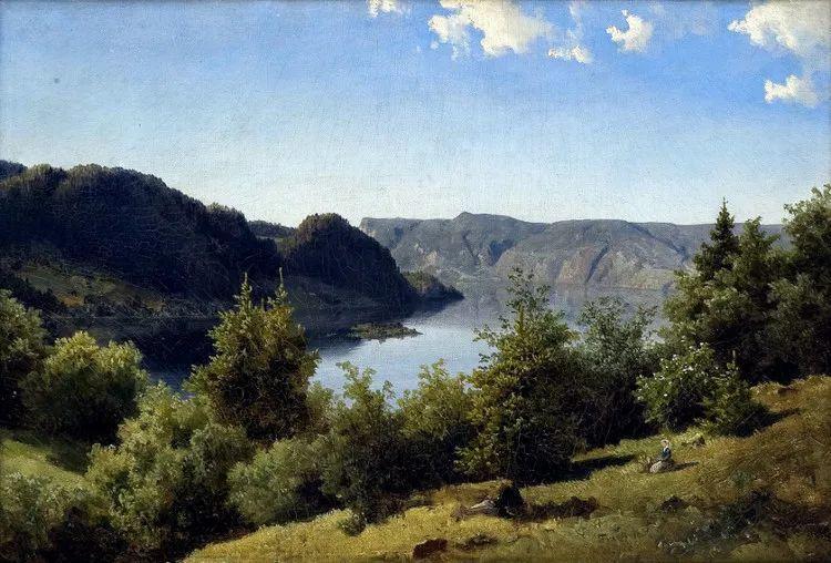 挪威Even Ulving风景油画作品插图6