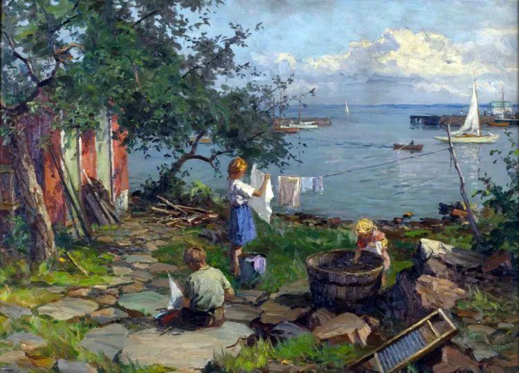 挪威Even Ulving风景油画作品插图8