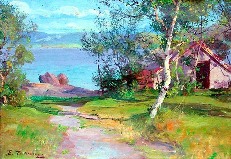 挪威Even Ulving风景油画作品插图9