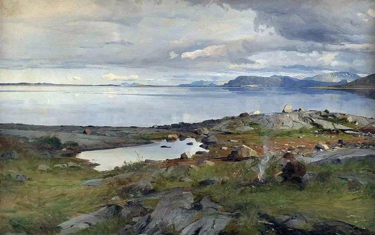挪威Even Ulving风景油画作品插图14