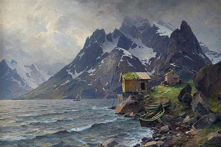 挪威Even Ulving风景油画作品插图19